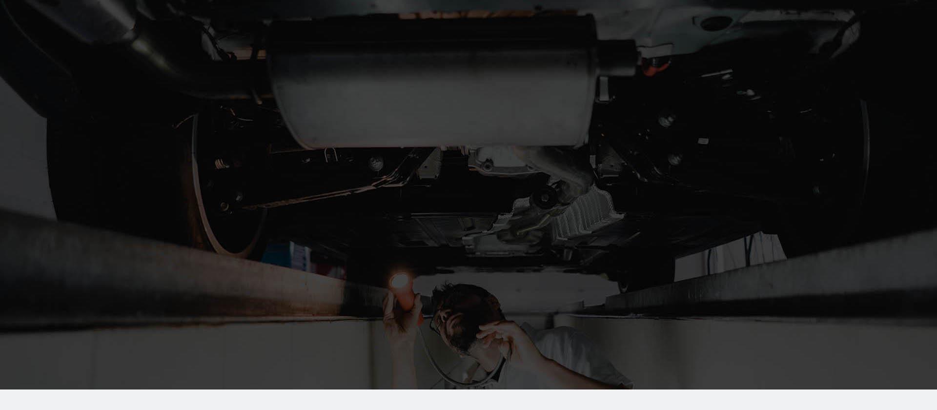 Duże zdjęcie przeglądu samochodu